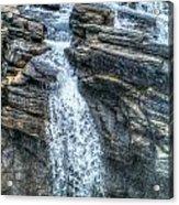 Rocky Mountain Falls Acrylic Print by Skye Ryan-Evans