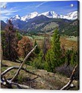Rocky Mountain National Park Acrylic Print