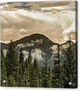Rocky Mountain Red Acrylic Print