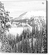 Rocky Mountain Vista Acrylic Print