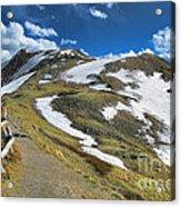 Rocky Mountains Path Acrylic Print