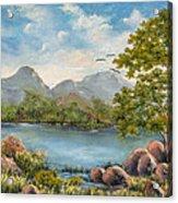 Rocky Outcrop Acrylic Print