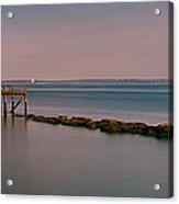 Rocky Point Acrylic Print by Pro Shutterblade