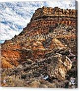 Rocky Ridge Acrylic Print