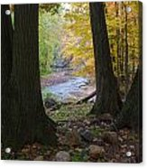 Rocky River Autumn 4 Acrylic Print