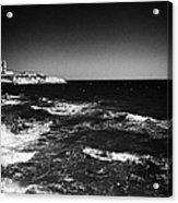 Rocky Shoreline At Salou On The Costa Dorada Catalonia Spain Acrylic Print