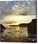 Sunrise Acrylic Print by Stephanie  Varner