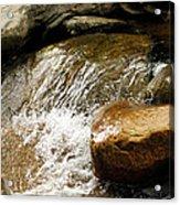 Rocky Waters Acrylic Print