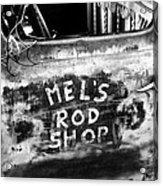 Rod Shop Truck Acrylic Print