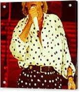 Rod Stewart E16 - 1991 Acrylic Print