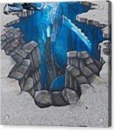 Rod Tryon Whale Acrylic Print
