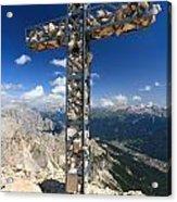 Roda Di Vael Cross Acrylic Print