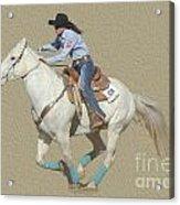 Rodeo 44 Acrylic Print