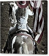Rodeo America Acrylic Print