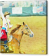 Rodeo Beauty Three Acrylic Print