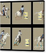 Rodeo Collage 2 Acrylic Print