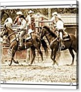 Rodeo Grandentry Acrylic Print