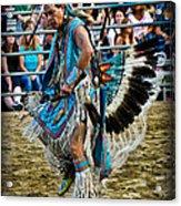 Rodeo Indian Dance Acrylic Print