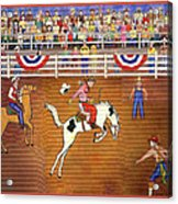 Rodeo One Acrylic Print