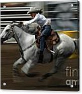 Rodeo Riding A Hurricane 1 Acrylic Print