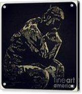 Rodin Acrylic Print