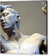 Rodin's The Vanguished Up Close Acrylic Print
