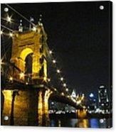 Roebling Bridge II Acrylic Print