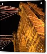 Roebling Tower I Acrylic Print