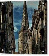 Cathedrale Saint-vincent-de-saragosse De Saint-malo Acrylic Print