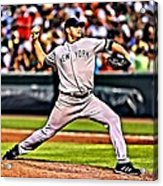 Roger Clemens Painting Acrylic Print