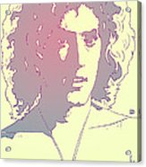 Roger Daltrey Acrylic Print