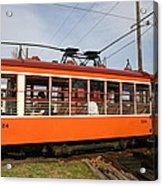 Rogers Trolley2 Acrylic Print