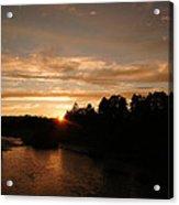 Rogue August Sunset Acrylic Print