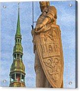 Roland Of Riga Painting Acrylic Print