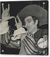 """Roland Petit, Makes """"cyrano De Bergerac"""" Into A Ballet Acrylic Print"""