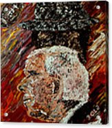 Roll Tide With Bear Bryant And Mal Moore  Acrylic Print by Mark Moore