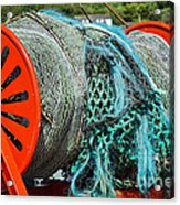 Rolled-up Nets Acrylic Print