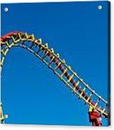 Roller Coaster Curve Acrylic Print
