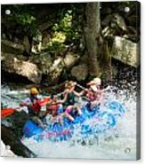 Roller Coaster Of Rafting Acrylic Print