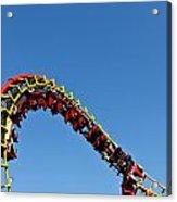 Roller Coaster Ride Acrylic Print