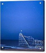 Roller Coaster Stars Acrylic Print