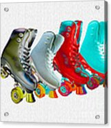 Roller Skates Acrylic Print