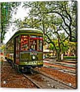 Rollin' Thru New Orleans Painted Acrylic Print