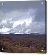 Rolling Clouds- Rolling Hills Acrylic Print