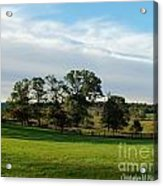 Rolling Hills Near Marriot Ranch Acrylic Print