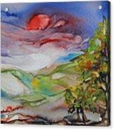 Rolling Hills - Spring Morning Acrylic Print