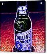 Rolling Rock Dark Acrylic Print
