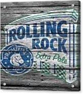 Rolling Rock Acrylic Print