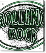 Rolling Rock Lager Acrylic Print