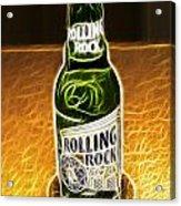 Rolling Rock Light Acrylic Print